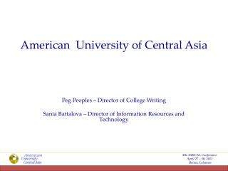 American  University of Central Asia