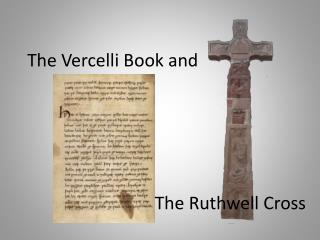 The Vercelli  Book and