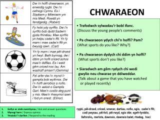 CHWARAEON