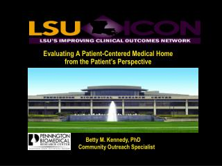Evaluating A Patient-Centered Medical Home from the Patient's Perspective