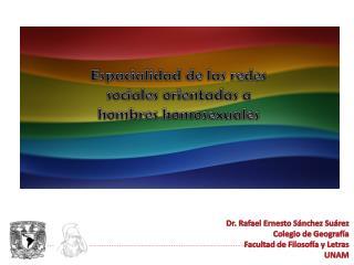 Espacialidad de las redes sociales orientadas a hombres homosexuales