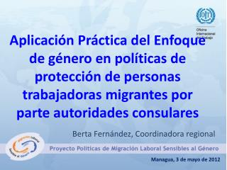 Managua, 3 de mayo de 2012