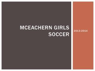 McEachern girls soccer