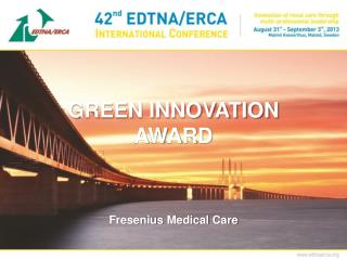 GREEN INNOVATION AWARD
