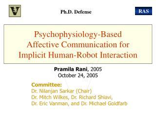 Psychophysiology-Based