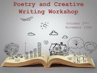 Poetry and Creative Writing Workshop