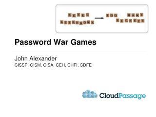 Password War Games