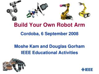 Build your own Robot Arm Presentation