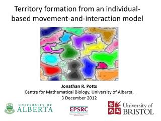 Territory formation from an individual-based movement-and-interaction model