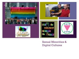 Sexual Minorities & Digital Cultures