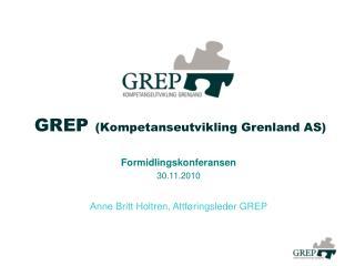 GREP (Kompetanseutvikling Grenland AS)
