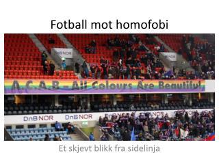 Fotball mot homofobi