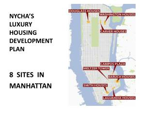 NYCHA'S  LUXURY  HOUSING DEVELOPMENT  PLAN