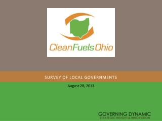 Survey of local governments