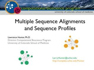 Multiple Sequence Alignments and Sequence Profiles