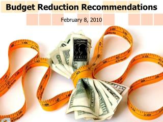 Budget Reduction Recommendations