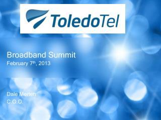 Broadband Summit