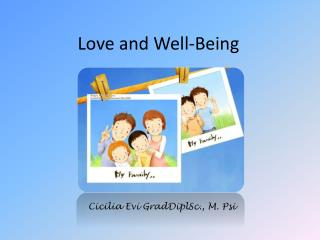 Love and Well-Being