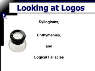 Looking at Logos