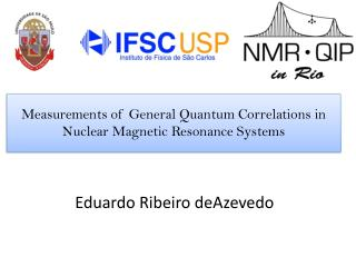 Measurements of General  Quantum Correlations in  Nuclear Magnetic Resonance Systems