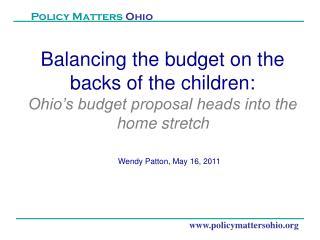 www.policymattersohio.org