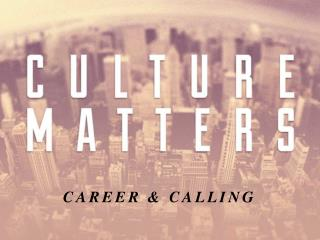 CAREER & CALLING