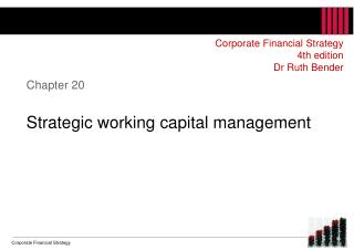 Chapter 20 Strategic  working capital management