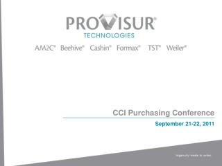 CCI Purchasing Conference