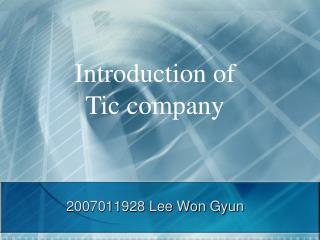 2007011928 Lee Won  Gyun