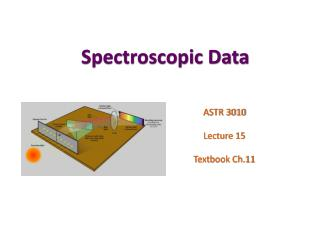 Spectroscopic Data