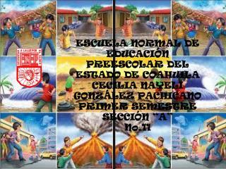 ESCUELA NORMAL DE EDUCACIÓN PREESCOLAR DEL ESTADO DE COAHUILA CECILIA NAYELI GONZÁLEZ PACHICANO