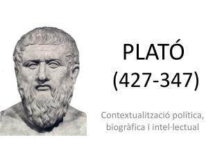 PLATÓ  (427-347)