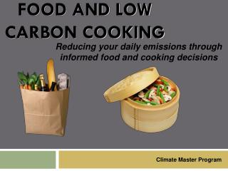 Food and Low Carbon Cooking