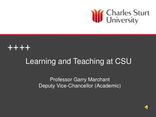 Learning and Teaching at CSU