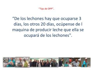 """""""Tips de OPP"""".."""