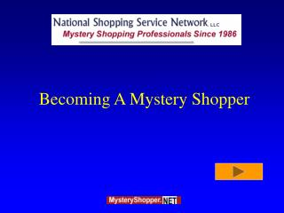 Becoming A Mystery Shopper