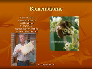 Bienenb ume