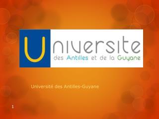 Université des Antilles-Guyane