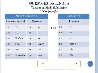 Questões da língua