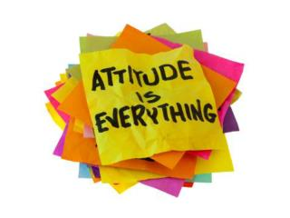 """ATTITUDE definition """"A position of the body or manner of carrying oneself"""""""