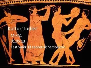 Kulturstudier