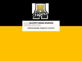 ALCO ALCOVY  HIGH SCHOOL  HISGH SCHOOL
