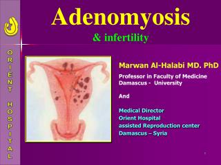 Adenomyosis & infertility