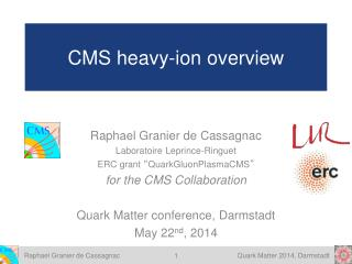 CMS heavy-ion overview