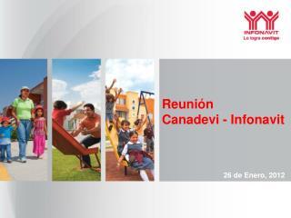 Reunión  Canadevi - Infonavit