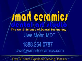 Over 30 Years Experience serving Dentistry