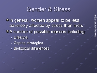 Biological Responses to Stress