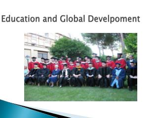 Education and Global  Develpoment