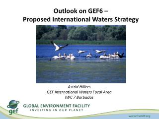 Outlook on GEF6 –  Proposed International  Waters Strategy