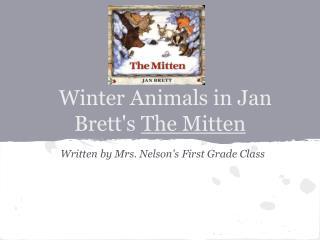Winter Animals in Jan Brett's  The Mitten